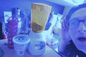 Skrillex Talks To Household Appliances